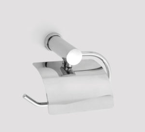 guest open toilet roll holder