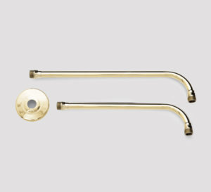 brass shower arm