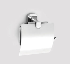 cosmo toilet roll holder with lid